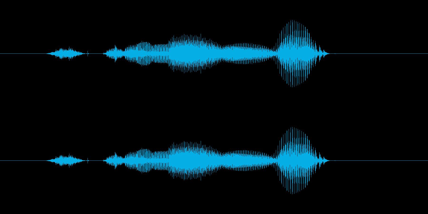【年数】7年後の再生済みの波形