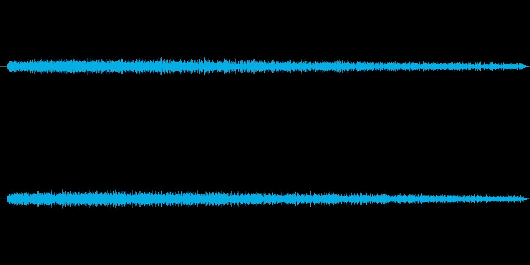 ガーン(衝撃時) 低いシンセPAD音の再生済みの波形
