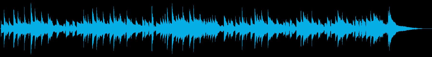 ほのぼの、場面展開などに最適な短い曲の再生済みの波形
