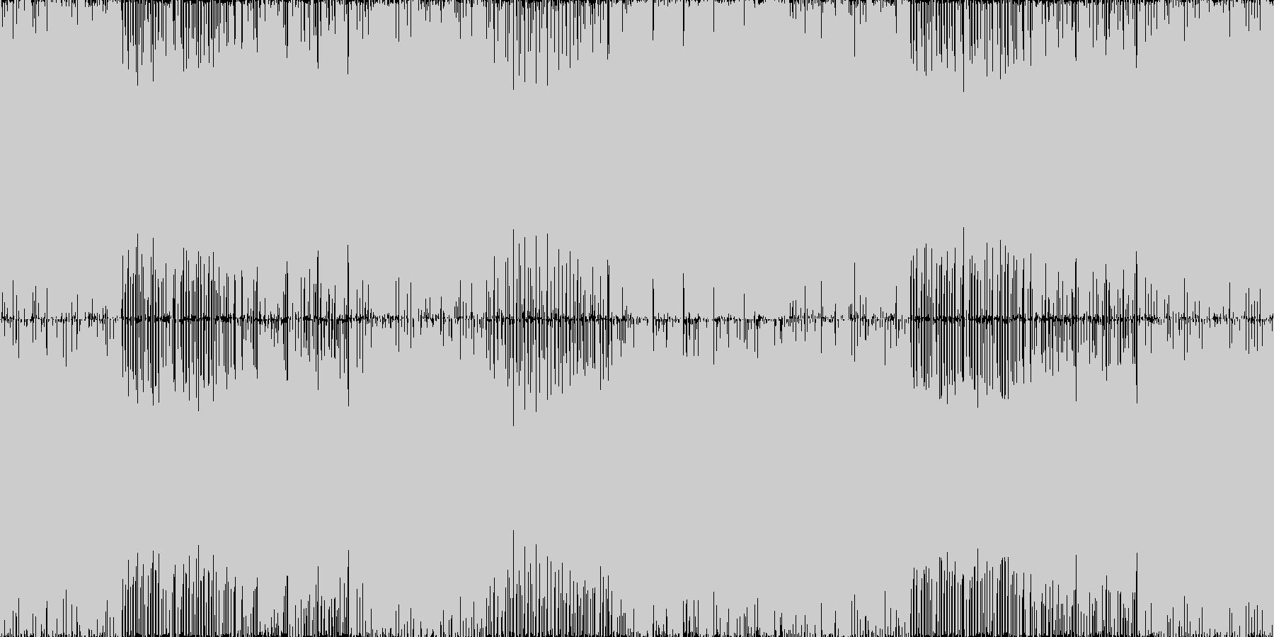 ファンタジーRPGのバトルをイメージし…の未再生の波形