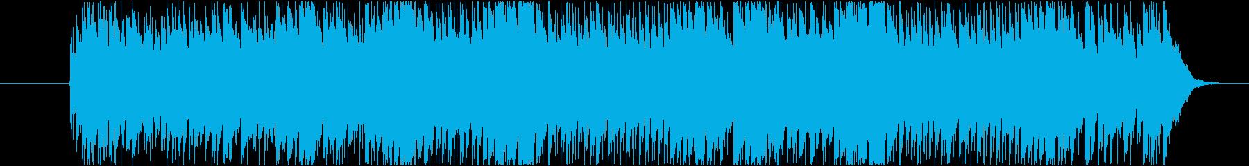 (ジリリリ)目覚まし時計のベルの再生済みの波形