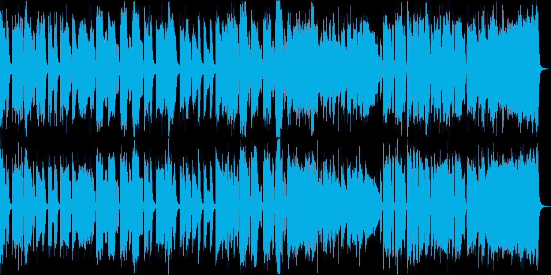 ほのぼのとした可愛らしいBGMの再生済みの波形