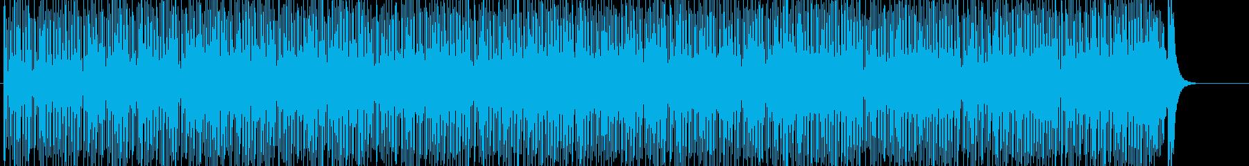 淡々 不思議 緊張 追跡 スリルの再生済みの波形