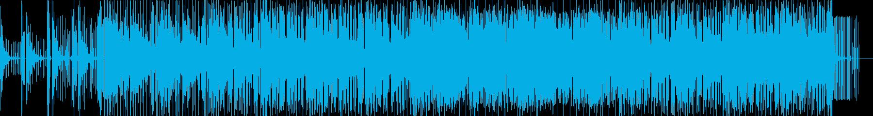 おしゃれテクノの再生済みの波形