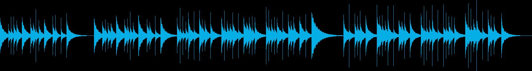 切ない優しいビブラフォンのソロ【鉄琴】の再生済みの波形