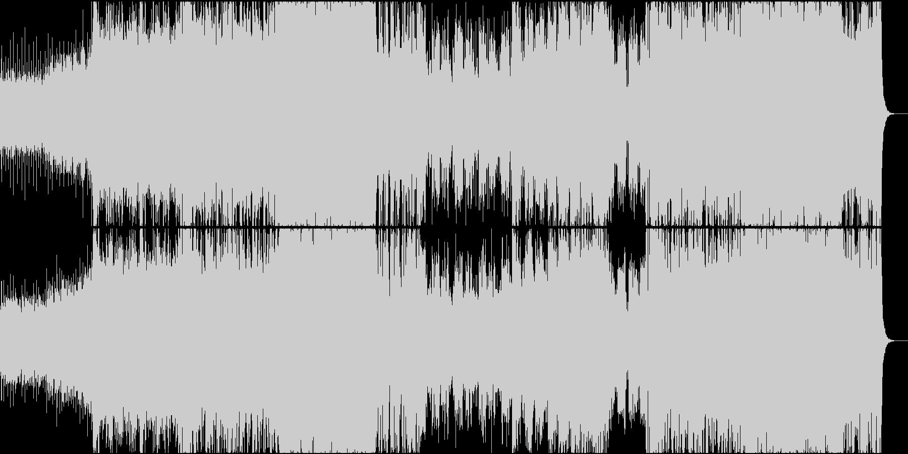壮大なシネマティック音楽の未再生の波形