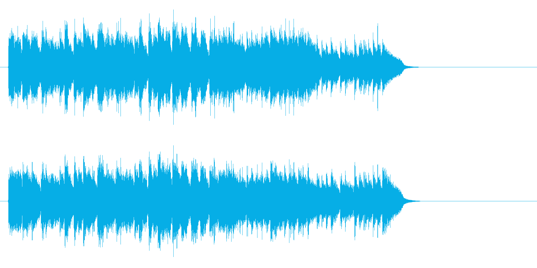 サビのメロディが印象的 好感度ポップスの再生済みの波形