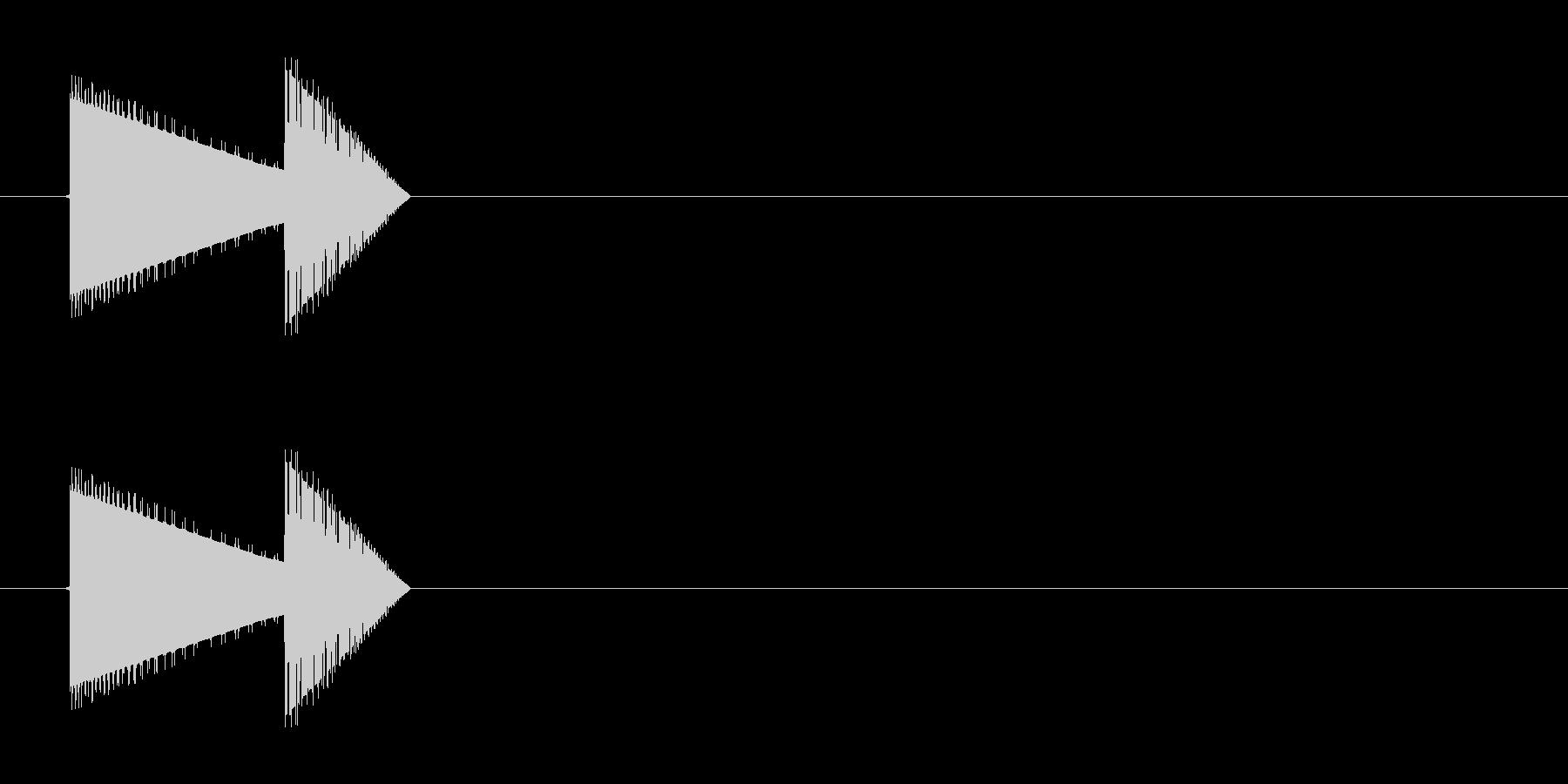 レトロゲーム風・宝箱#2の未再生の波形