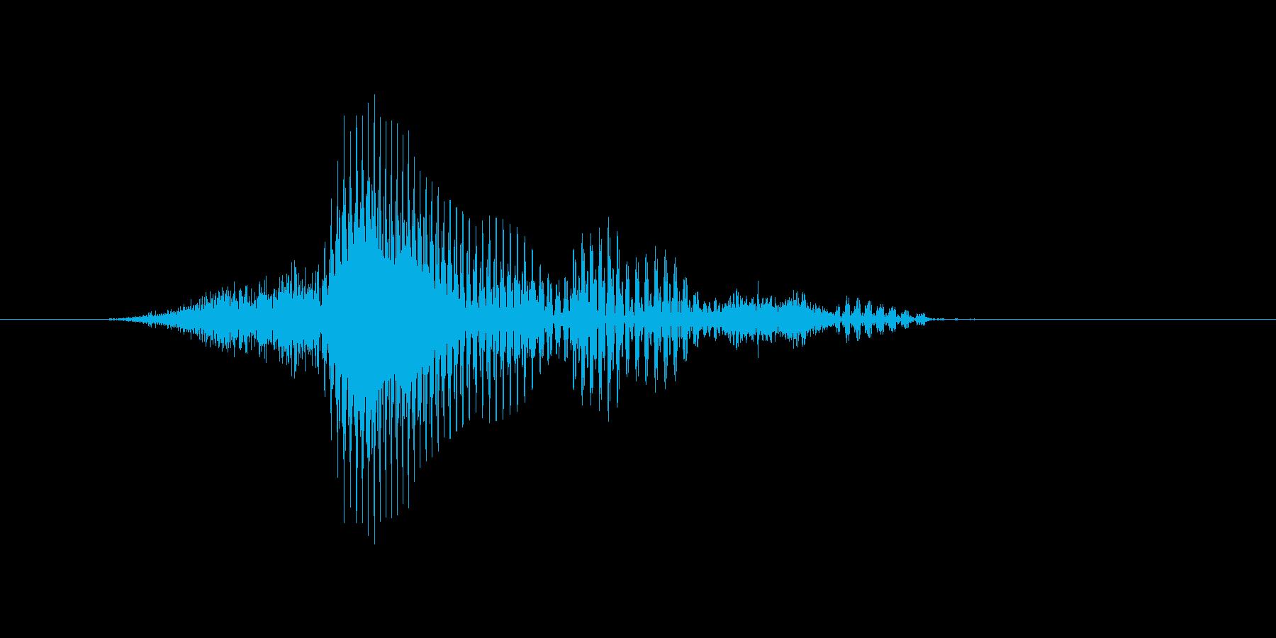 シングルスの再生済みの波形