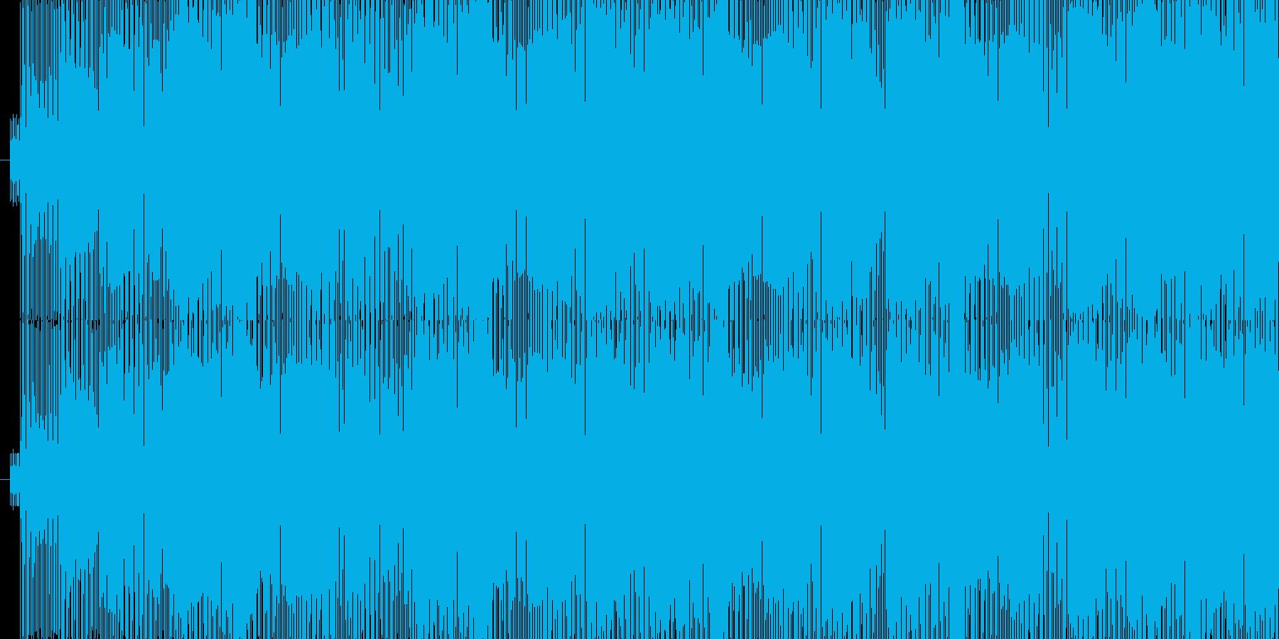 夏の青空にピッタリ!カリプソ風の再生済みの波形