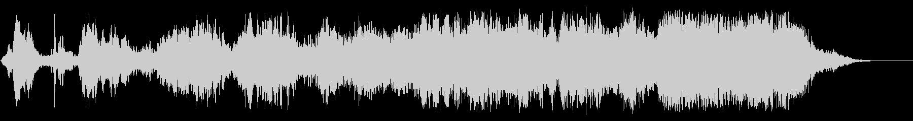 環境音楽(サイエンス&ケミカル)の未再生の波形