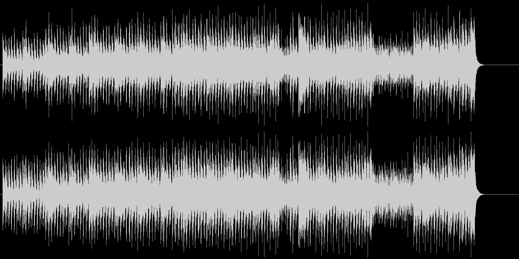 タイトでクールなハウス風POPの未再生の波形