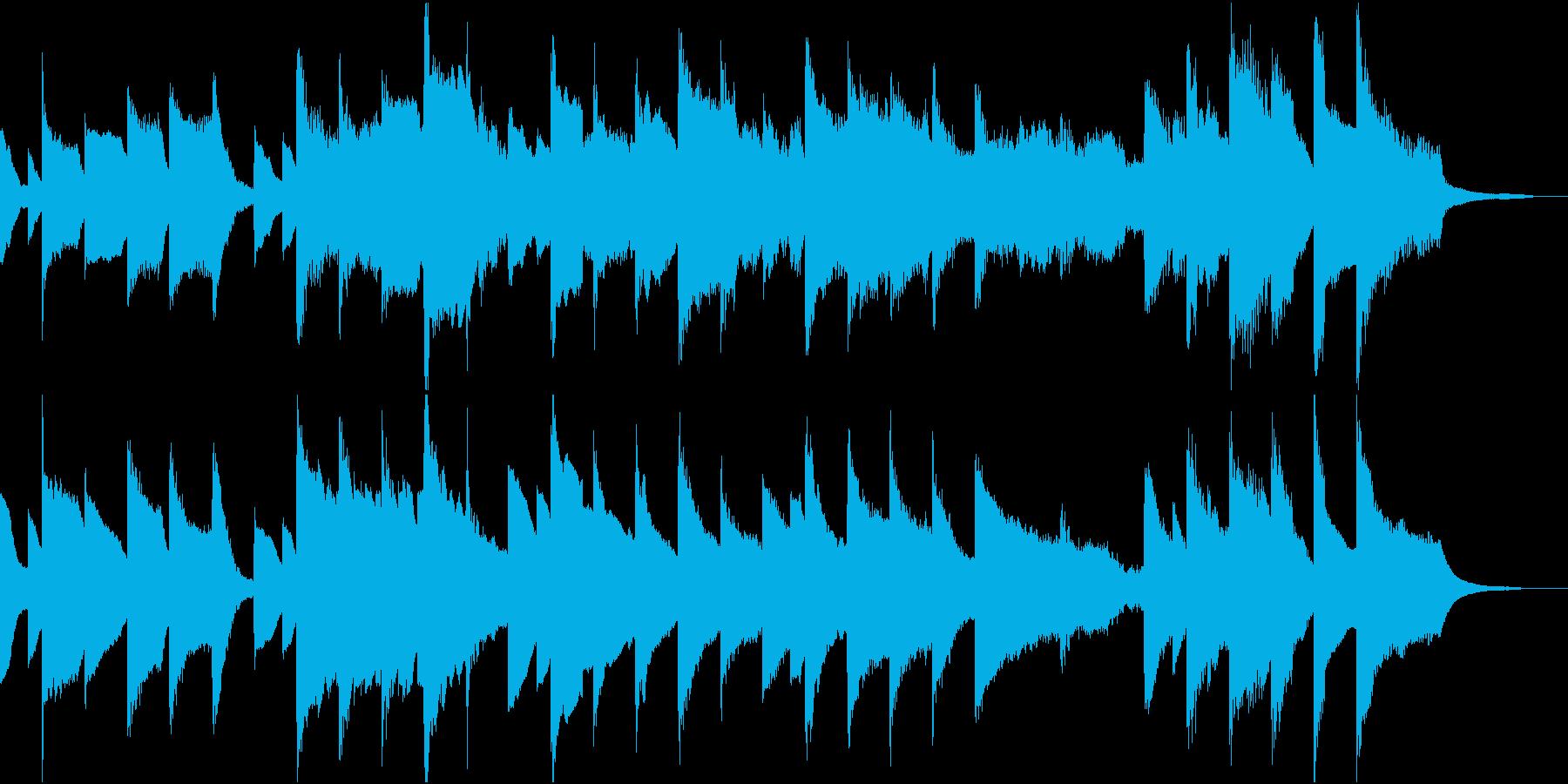 かわいいハッピーバースデーのうたの再生済みの波形