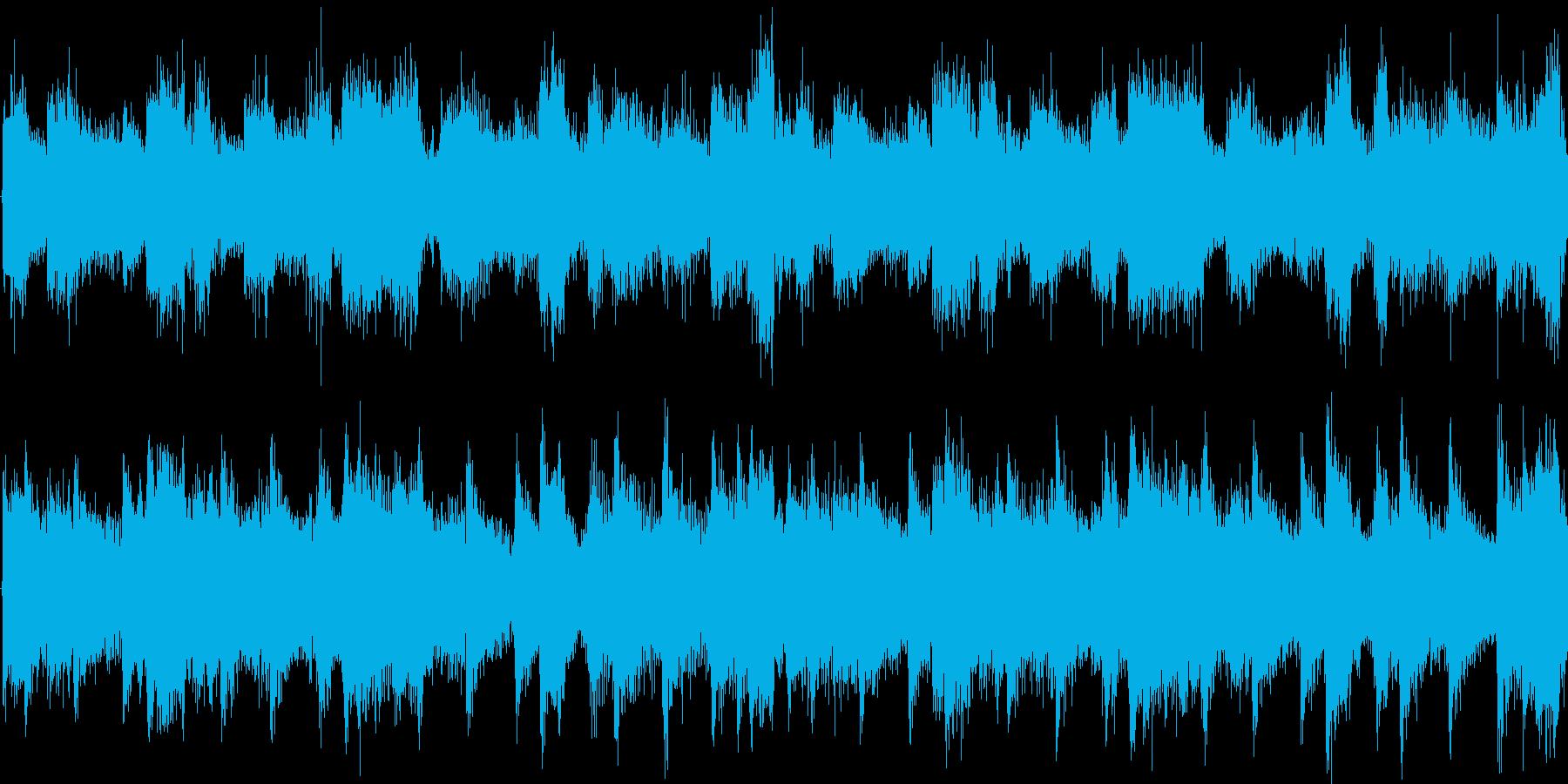 リズムと浮遊感を強調した楽曲です。の再生済みの波形