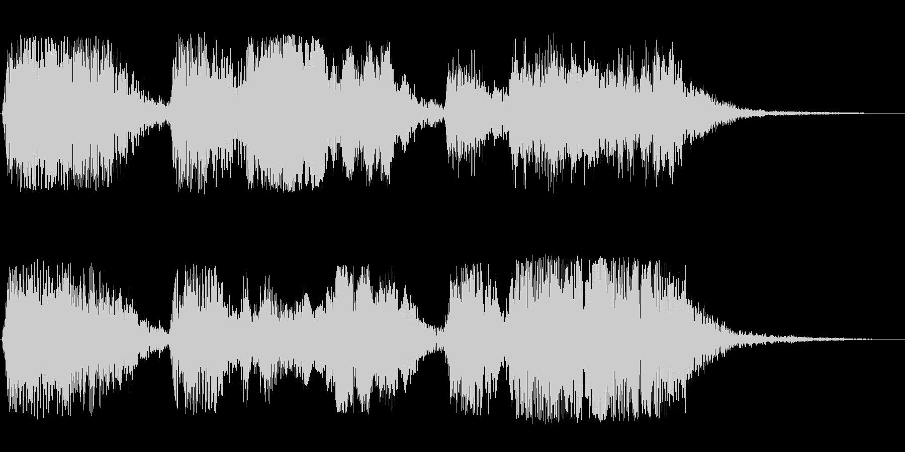 ファーファフォーフォファー(神聖な印象)の未再生の波形
