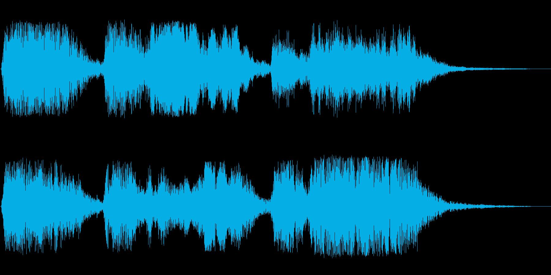 ファーファフォーフォファー(神聖な印象)の再生済みの波形