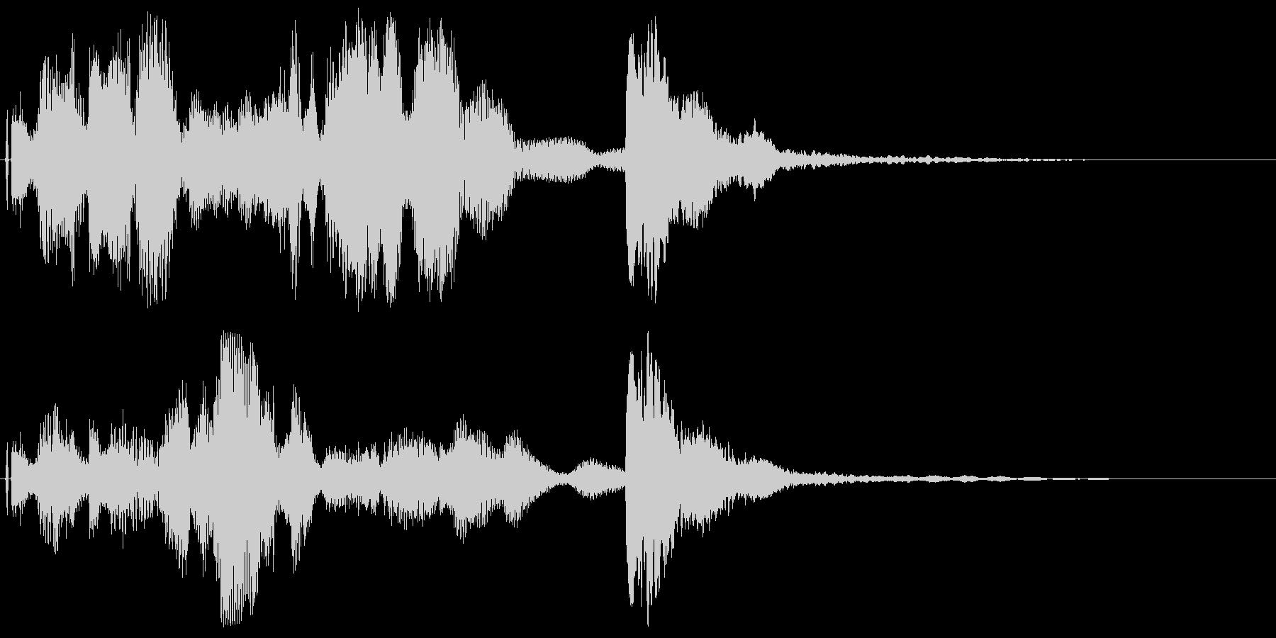 DJ,ラジオ系のサウンドロゴ,ジングル1の未再生の波形