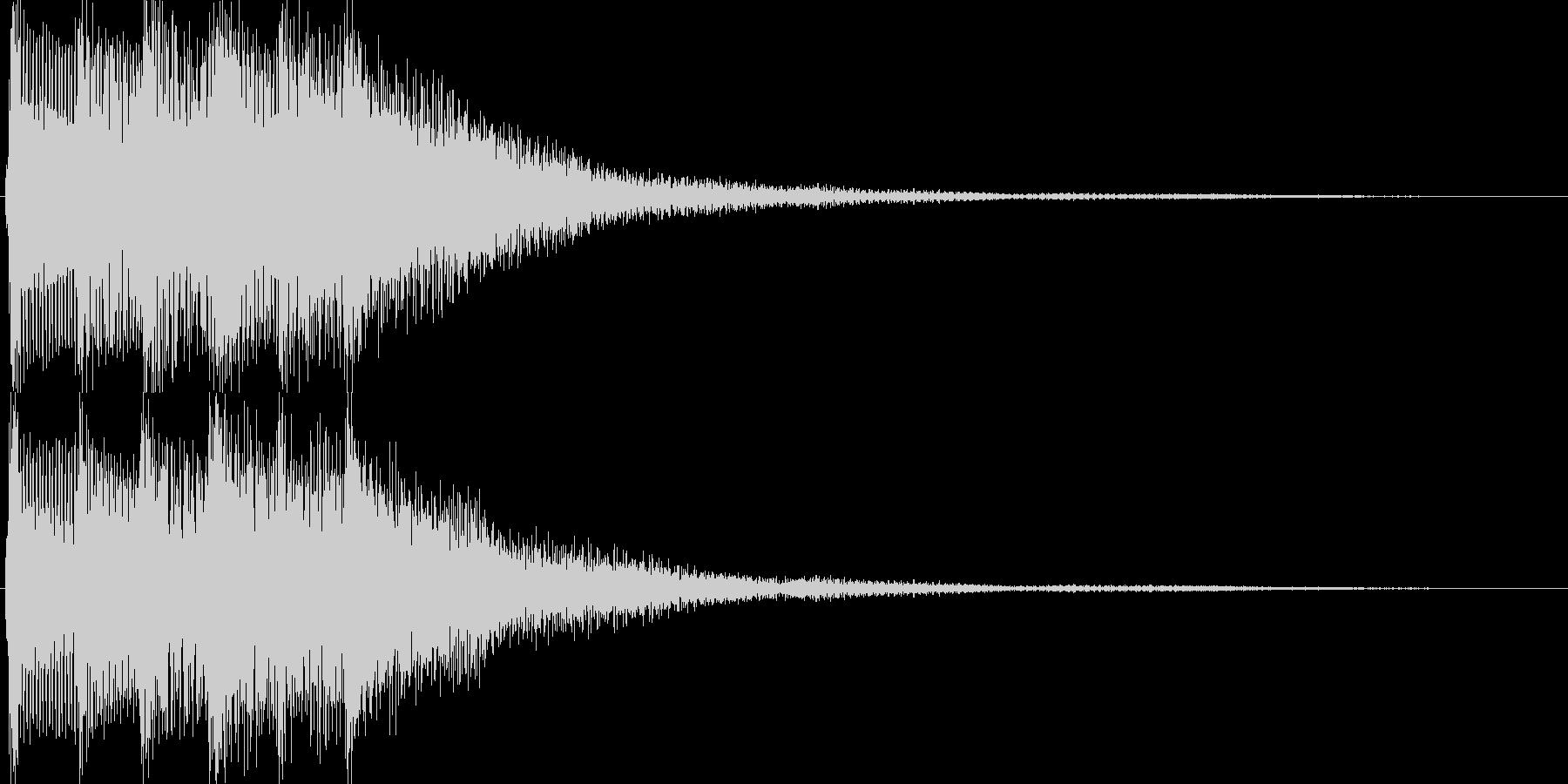 ゲーム(セーブ、レアアイテム入手)などにの未再生の波形