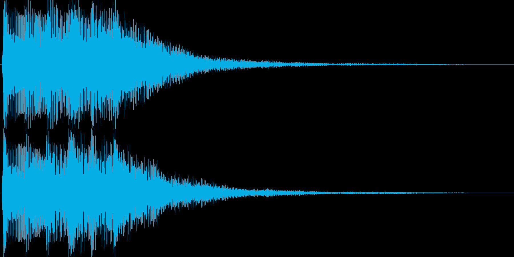 ゲーム(セーブ、レアアイテム入手)などにの再生済みの波形