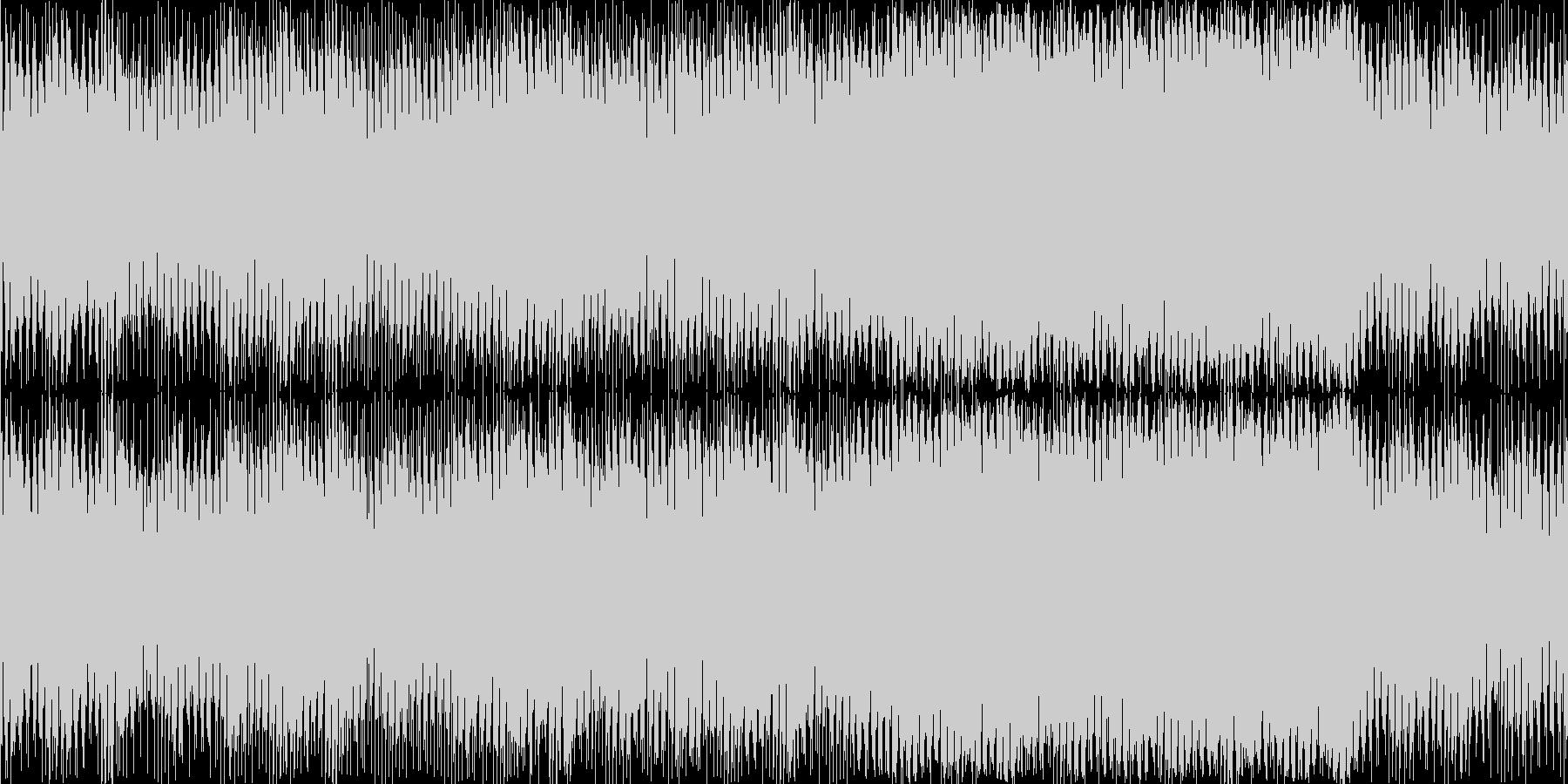 トランシーで少し怪しい感じのEDMの未再生の波形