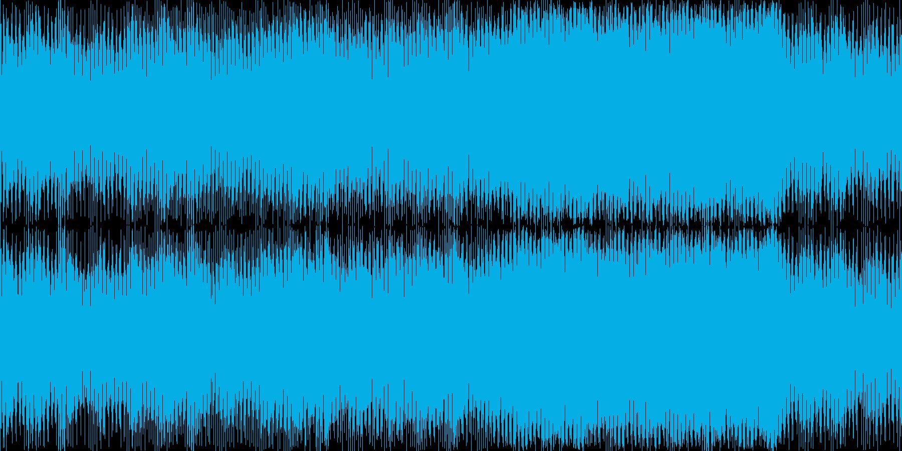 トランシーで少し怪しい感じのEDMの再生済みの波形