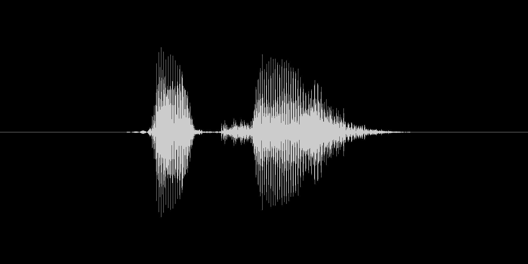 Okay / OK (発音:Okay …の未再生の波形
