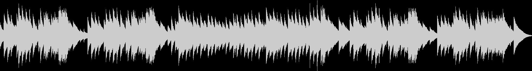 オルゴールの曲や、子供向けの番組などに…の未再生の波形
