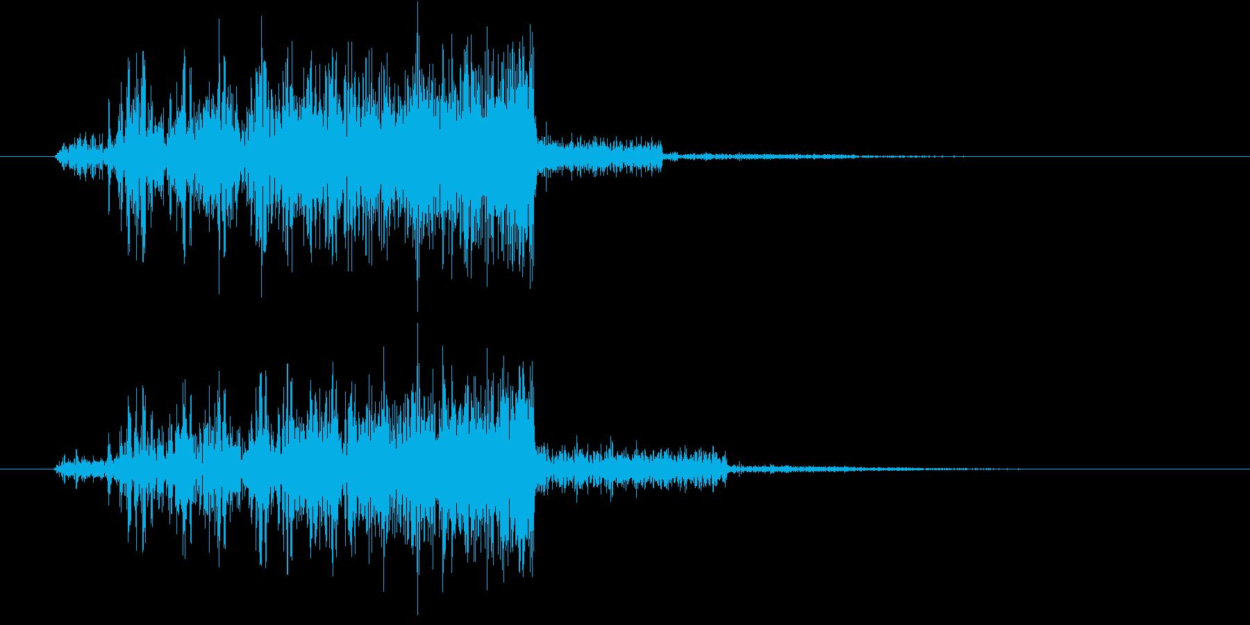 パワーアップ・レベルアップ(ギュイーン)の再生済みの波形