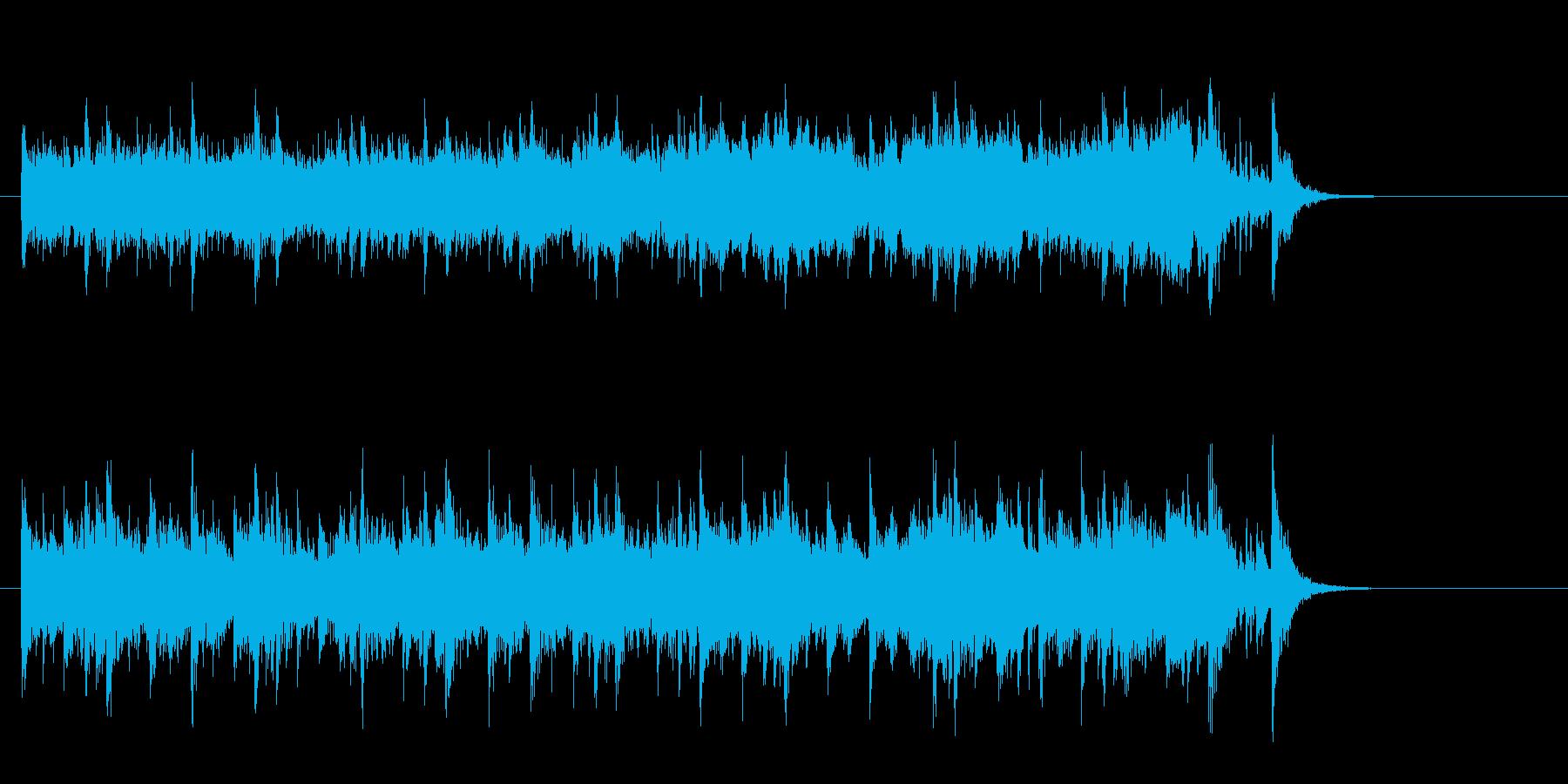 素朴なフォークポップス(イントロ~サビ)の再生済みの波形