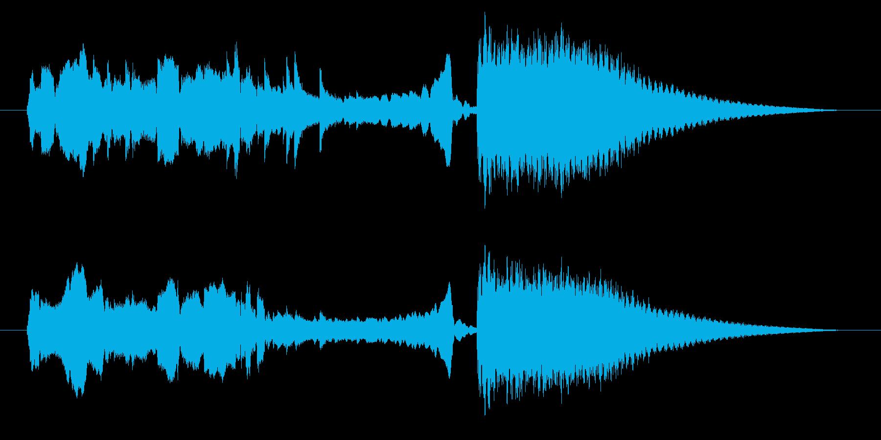 中国風アイキャッチ☆ジングル3の再生済みの波形