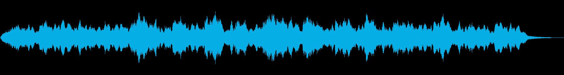 インドの笛シャナイによる神秘的な音風景の再生済みの波形