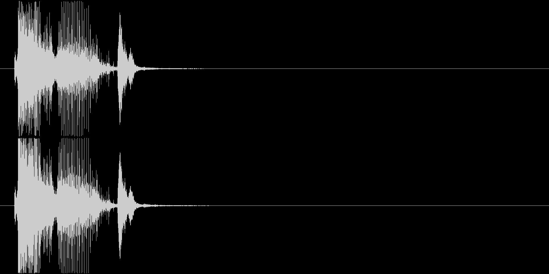「パーフェクト」ゲーム・アプリ用3の未再生の波形