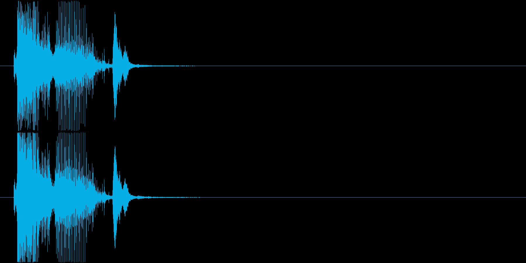 「パーフェクト」ゲーム・アプリ用3の再生済みの波形