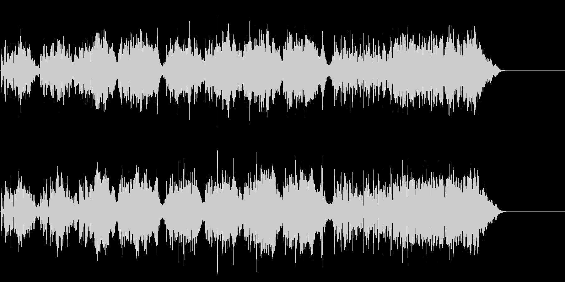 ドキュメント風環境音楽の未再生の波形