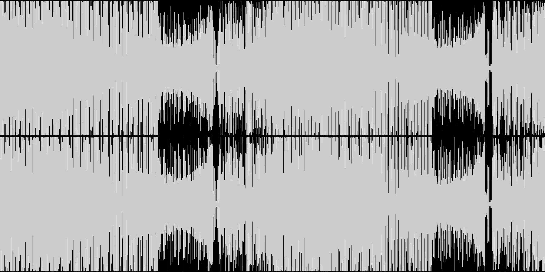 EDM トロピカル チャート メジャーLの未再生の波形