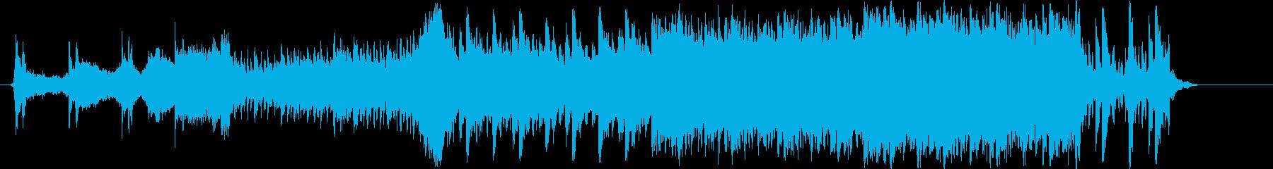 ダークヒーロー系テーマの再生済みの波形