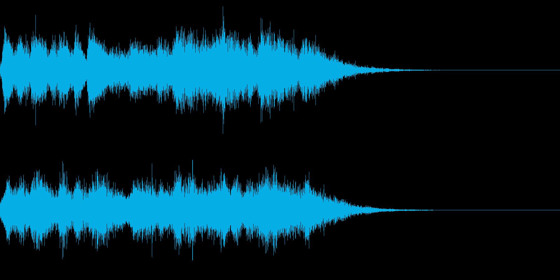 成功ジングルなど(オーケストラ系)の再生済みの波形