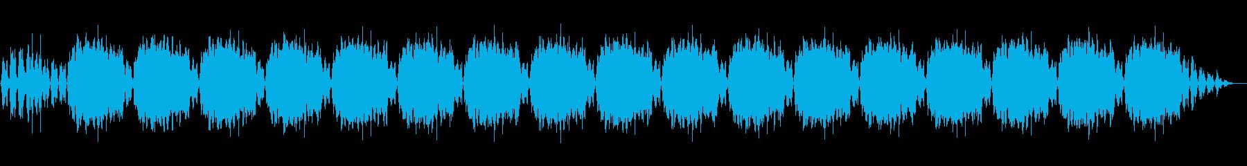 心が落ち着くバックグラウンドミュージックの再生済みの波形