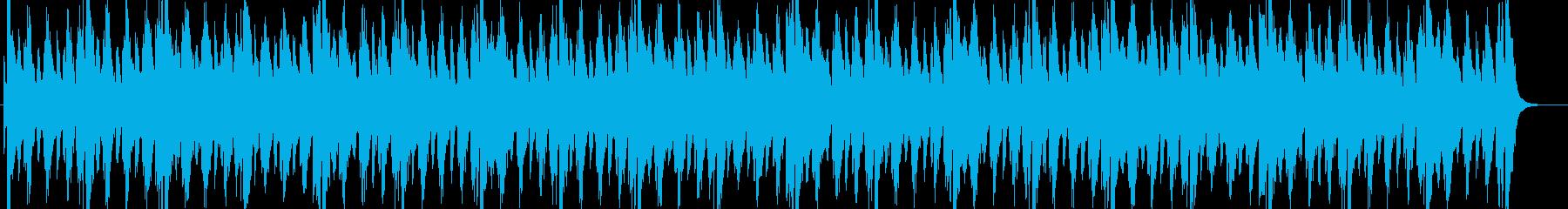 「闇のドン」を感じさせるオケ曲の再生済みの波形