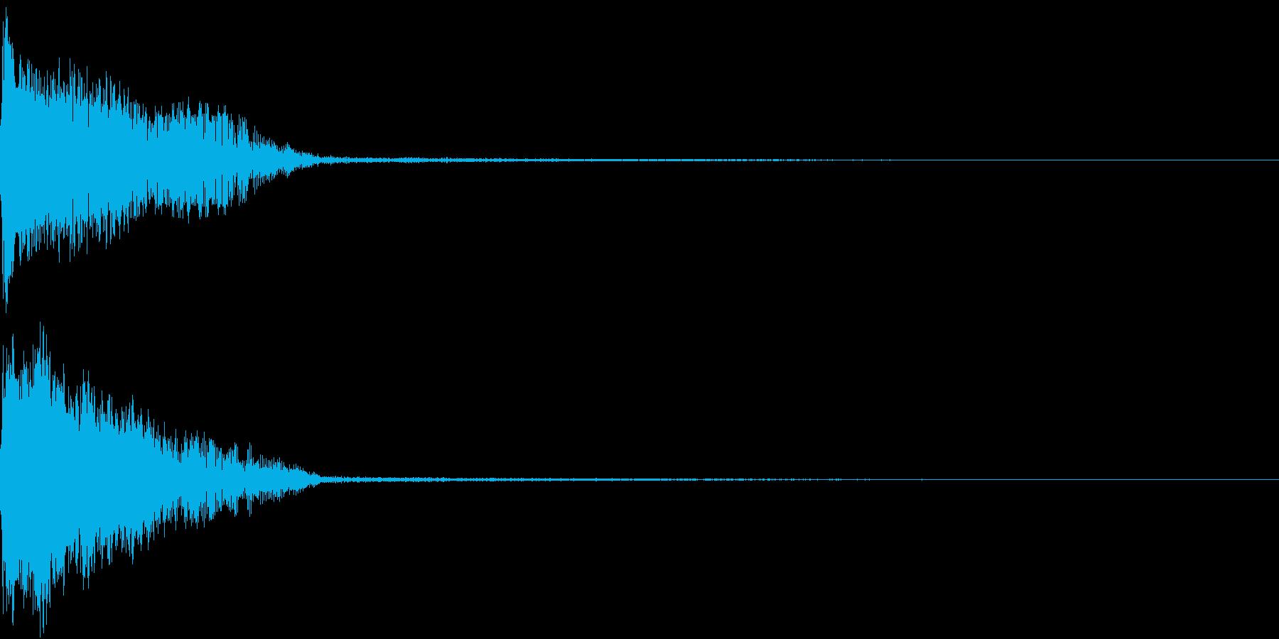 InvaderBuzz 発砲音 1の再生済みの波形