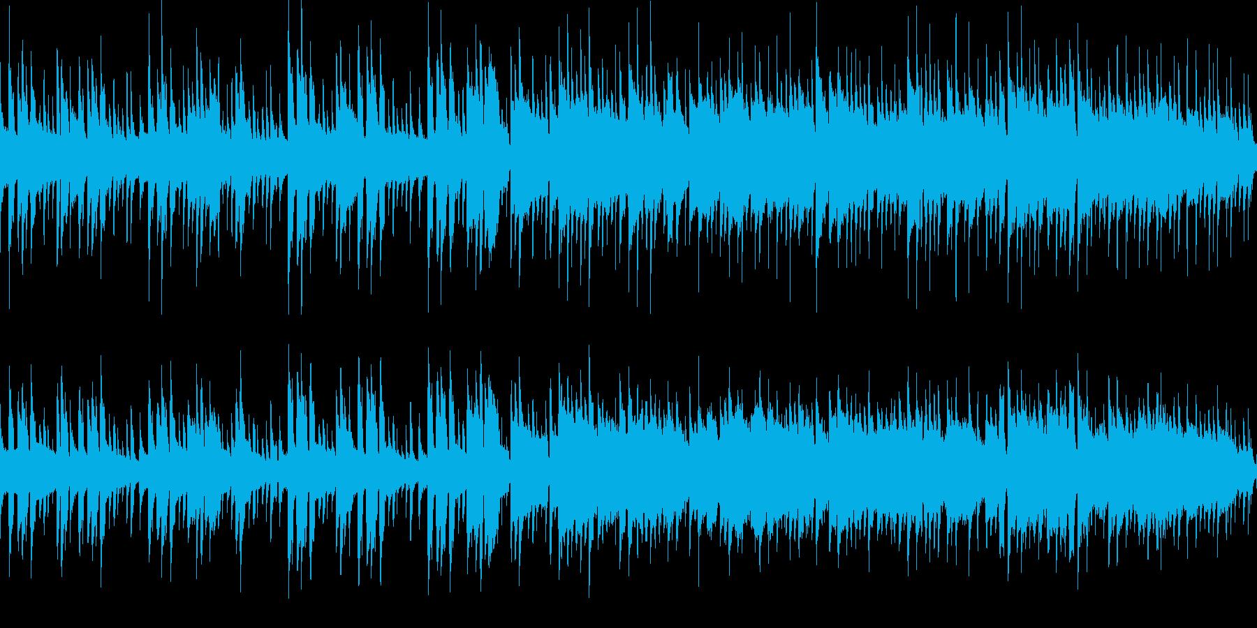 ゲーム用素材/村・キャラテーマの再生済みの波形