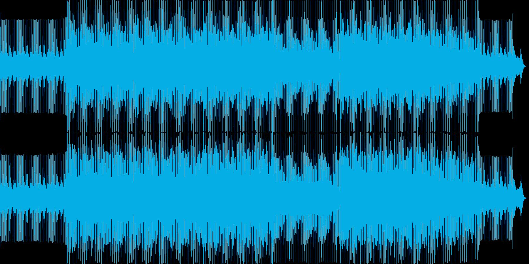 イベントが始まる前に流れるBGMの再生済みの波形