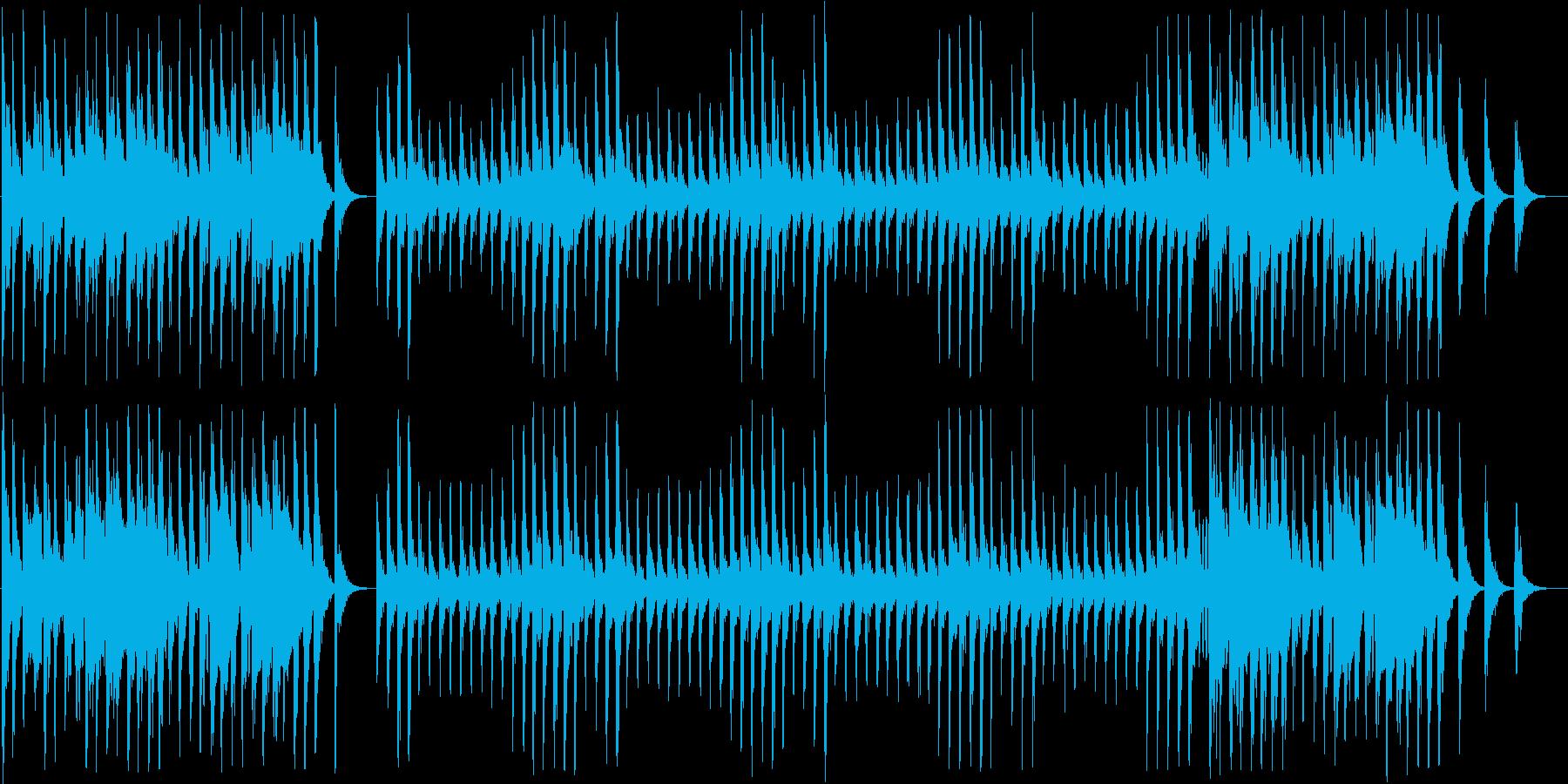 ストーリー系のインフォメーション曲の再生済みの波形