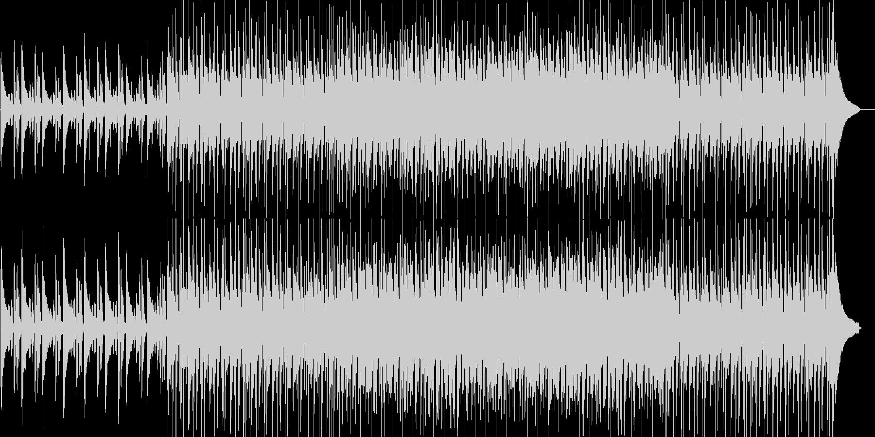 爽やか・軽快・わくわく・楽しい・ピアノの未再生の波形