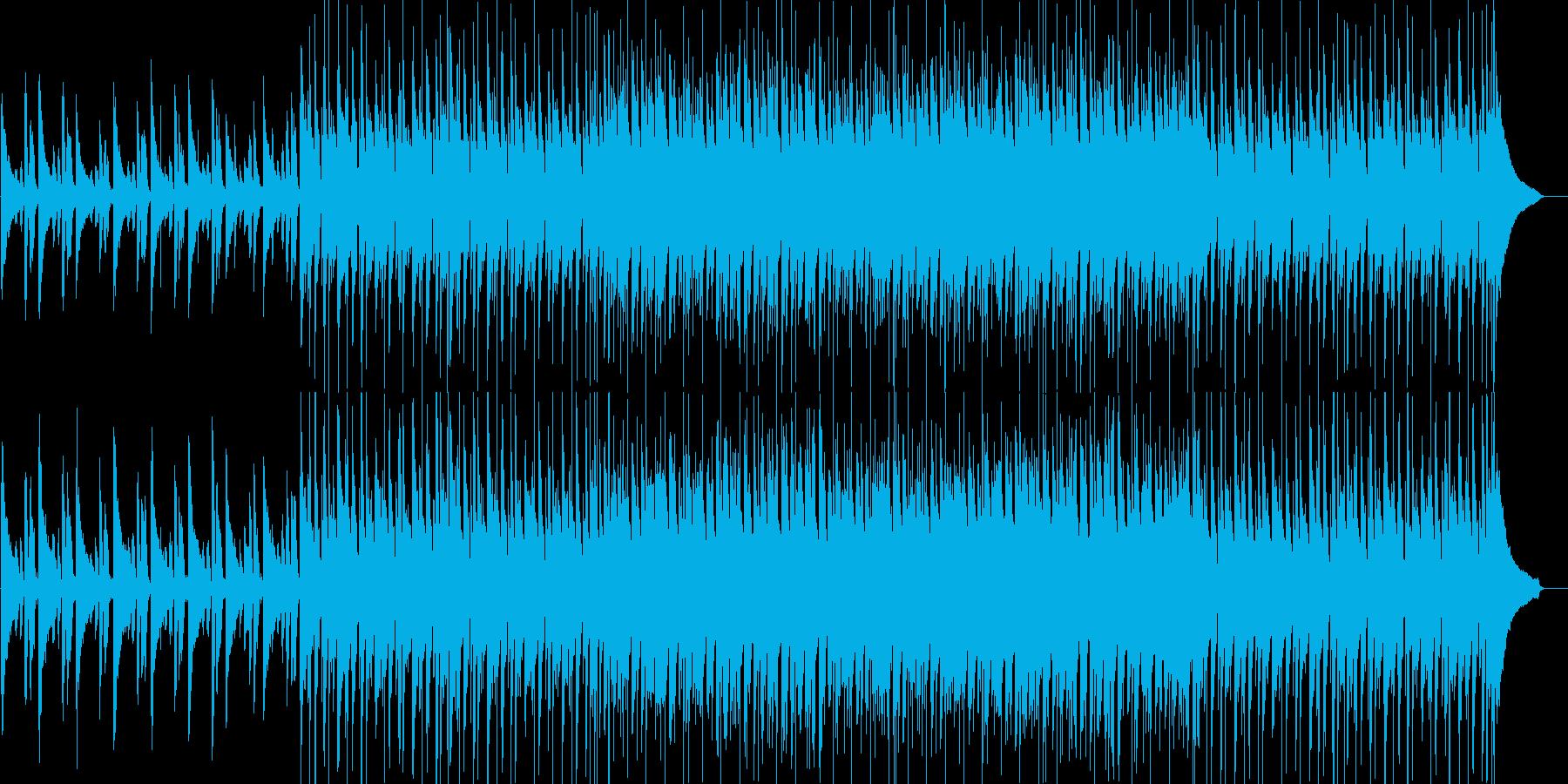 爽やか・軽快・わくわく・楽しい・ピアノの再生済みの波形