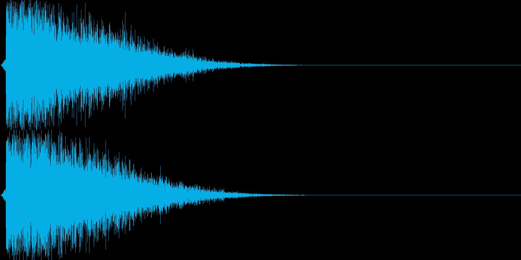 バシュイーン(シューティング、レーザー)の再生済みの波形