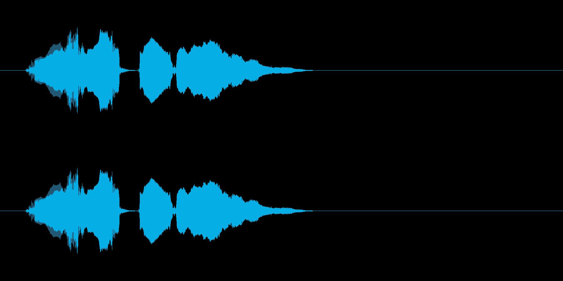 おおあたり〜の再生済みの波形
