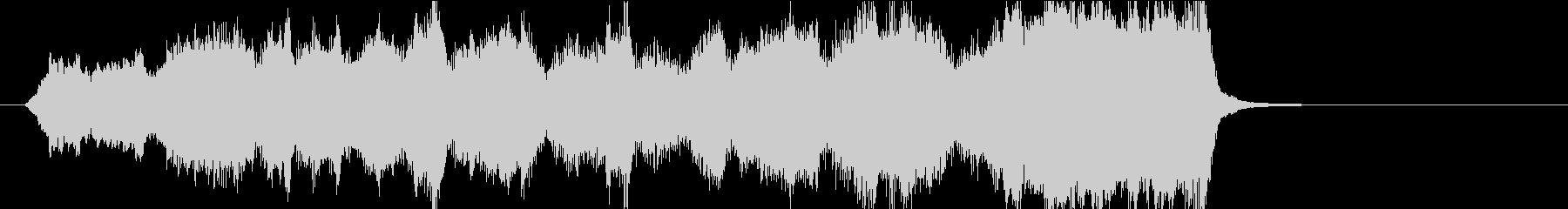 15秒CM向け 安らぎの弦楽四重奏の未再生の波形