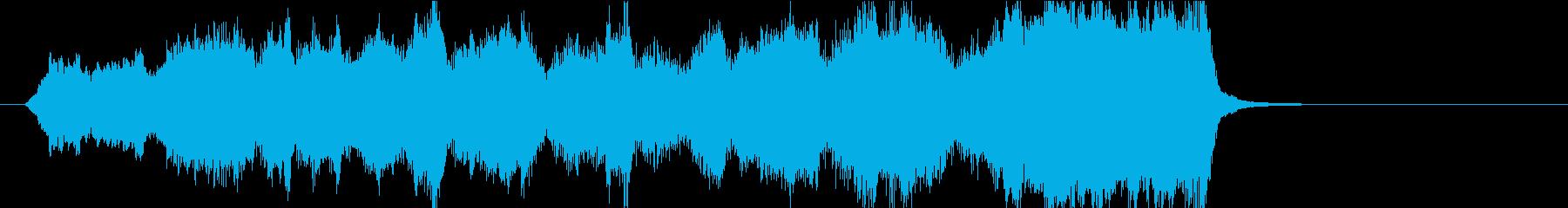 15秒CM向け 安らぎの弦楽四重奏の再生済みの波形