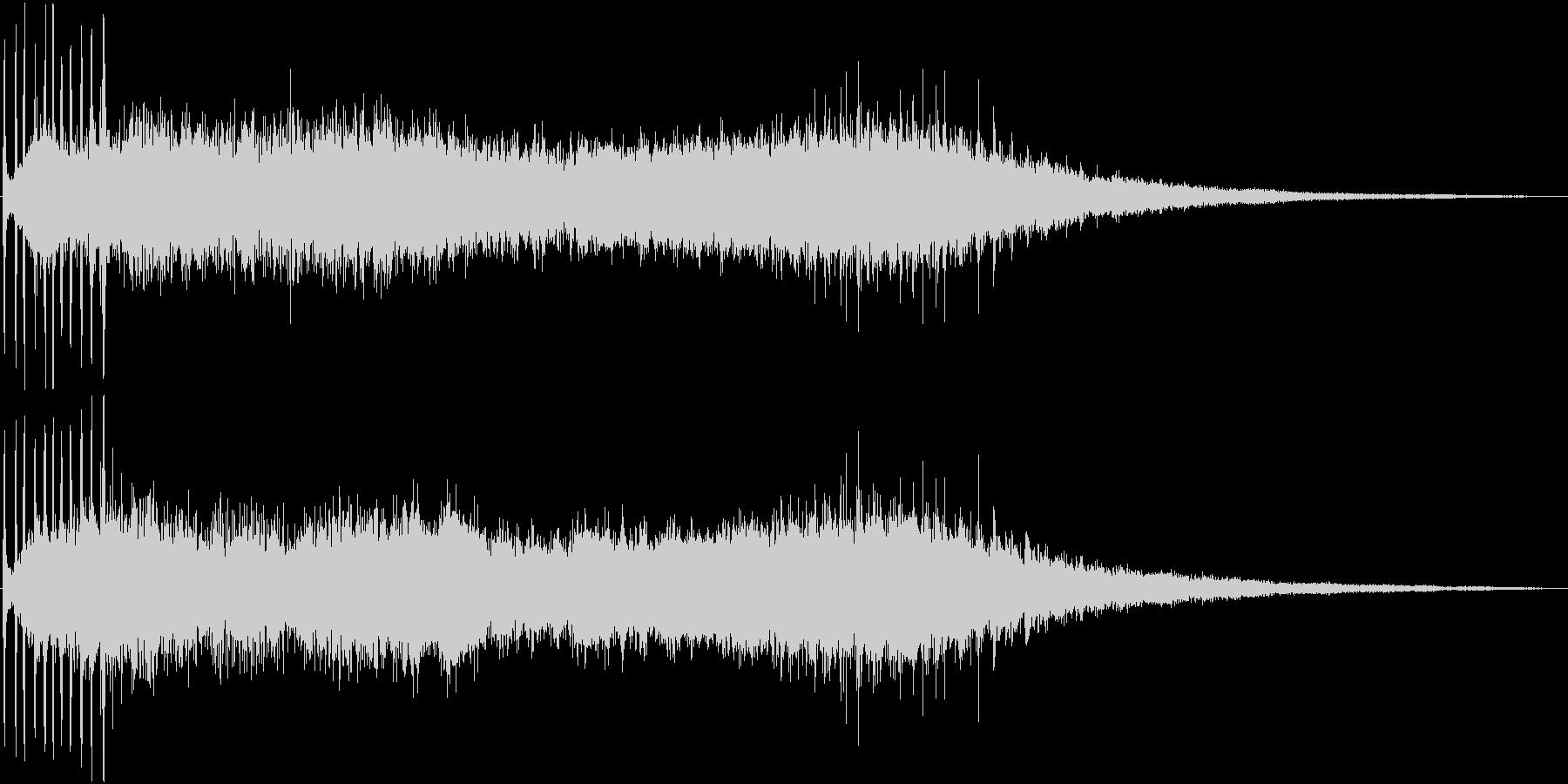 登場シーンなどに最適なエスニックジングルの未再生の波形